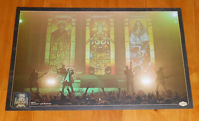 Ghost bc bc rare vip popestar coins coin papa emeritus iii from ghost bc ceremony and devotion litho poster original 2 sided promo 11x17 m4hsunfo