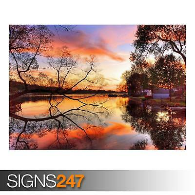 AUTUMN (AD976) NATURE POSTER - Photo Picture Poster Print Art A0 A1 A2 A3 A4