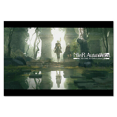 Nier Automata Poster - Become As God Version - High Quality Prints
