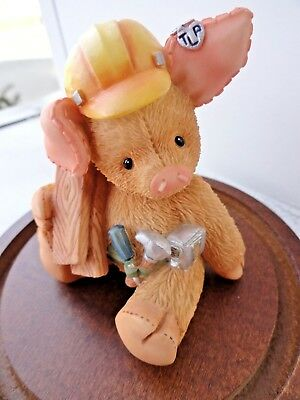 """This Little Piggy """"Mary"""" * YOU BUILD ME UP!* BY ENESCO 1999"""