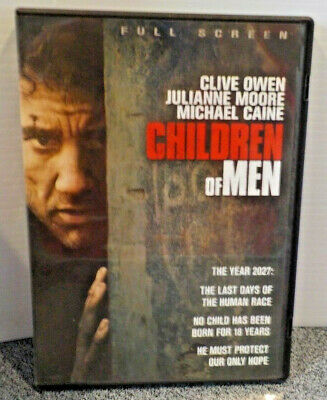 Children Of Men DVD With Julianne Moore & Michael Caine Pre-owned Tested 2006