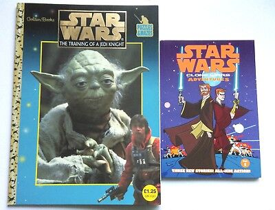 Star Wars Training Of A Jedi Knight Puzzle Book And Clones Wars Adventures Vol 1