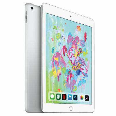 Apple iPad  9.7 Inch WiFi 32GB - Silver (2018) **BRAND NEW + APPLE WARRANTY**
