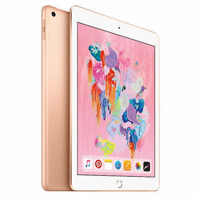 Apple iPad  9.7 Inch WiFi 32GB - Gold (2018)  **BRAND NEW + APPLE WARRANTY**