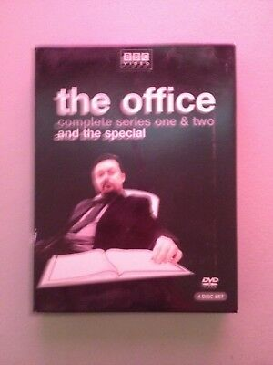 The Office UK BBC Complete Series 1 & 2 Region 1 DVD Set Ricky GERVAIS