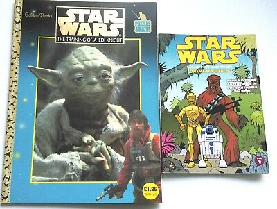 Star Wars Training Of A Jedi Knight Puzzle Book And Clones Wars Adventures Vol 4