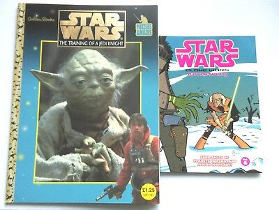 Star Wars Training Of A Jedi Knight Puzzle Book And Clones Wars Adventures Vol 6