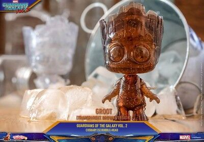 Hot Toys Cosbaby Les Gardiens De La Galaxie Vol. 2 - Groot TransparentBrown COSB456