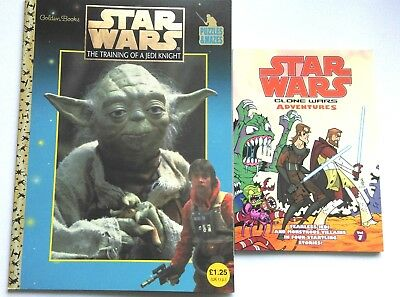 Star Wars Training Of A Jedi Knight Puzzle Book And Clones Wars Adventures Vol 7