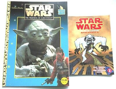 Star Wars Training Of A Jedi Knight Puzzle Book And Clones Wars Adventures Vol 8