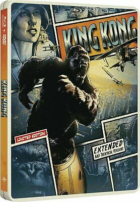 King Kong - Limited Edition Steelbook [Blu-ray + DVD] New and Sealed!!