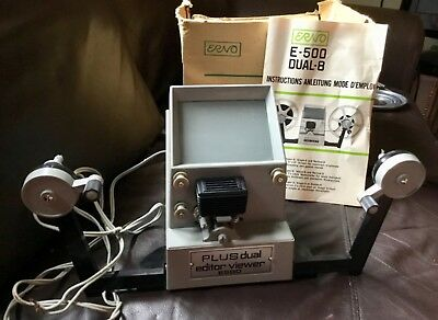Erno Plus dual editor viewer E500 with box/manual
