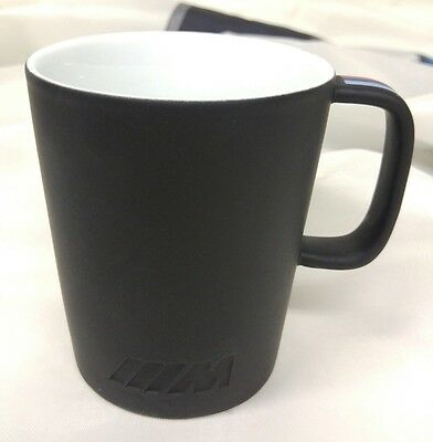 BMW ///M Black Mug with BMW ///M Stripes & Logo 80232410919 OEM