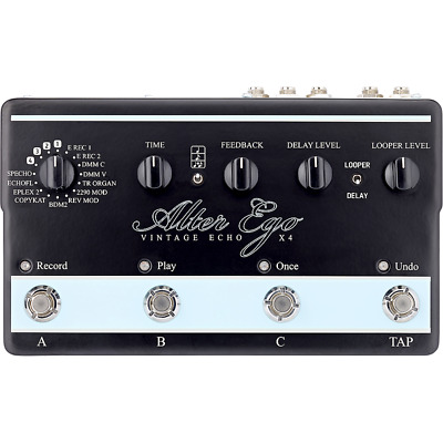 tc electronic Alter Ego X4 Vintage-Voiced Delay Pedal with Built-In TonePrint