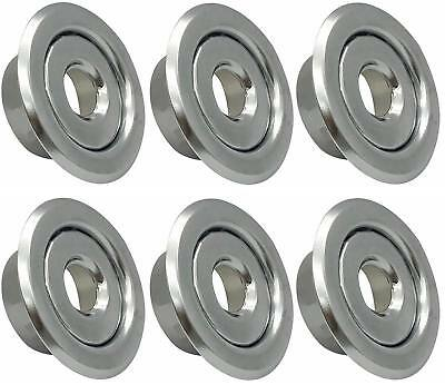 "1/2"" IPS Fire Sprinkler Head Semi-Recessed Escutcheon Two Piece Cover R (6 Pack)"