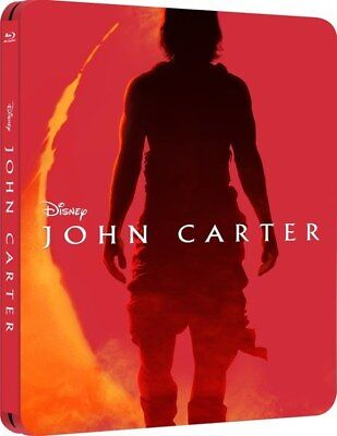 John Carter 3D - Limited Edition Steelbook [Blu-ray 3D + Blu-ray] New & Sealed!