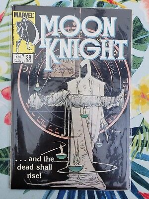 Moon Knight (Marvel) Fist Of Khonshu + Special Edition + 1989 #1, 2, 25  + #38