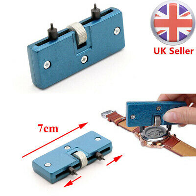 Watch Back Case Opener Battery Cover Remover Screw Wrench Repair Tool Kits sets