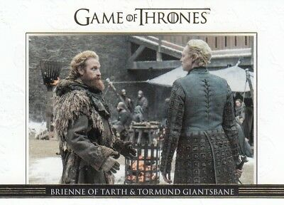 Game Of Thrones Season 7 - Gold Parallel Relationships Chase Card Dl50 (080/225)