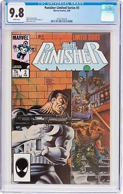 The Punisher #2 (Feb 1986, Marvel) COMIC BOOK ~ CGC 9.8 NM/MT ~ LIMITED SERIES