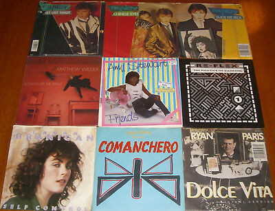Vinyl - Single Sammlung - 90 Singles ( ITALO DISCO ) Sandra - Fancy - Baltimora