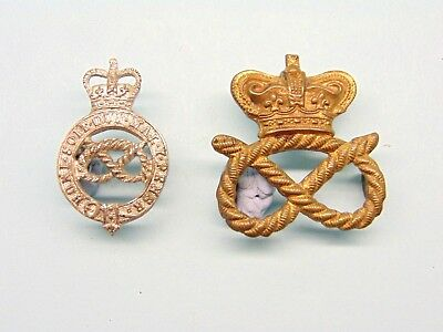 The Staffordshire Yeomanry Collar Badges.