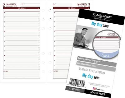 At-A-Glance Day Runner Daily Planner Refill - Size 3 - Daily Planner Refills