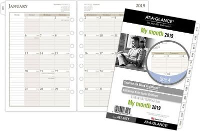 At-A-Glance Day Runner Monthly Planner Refill Size 4 - Planner & Appointment