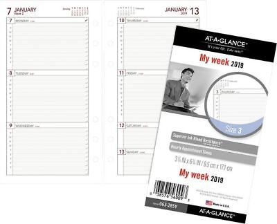 picture regarding Planner Refills identify AT-A-Glimpse Working day RUNNER Weekly Planner Refill Measurement 3 - Weekly Planner Refills