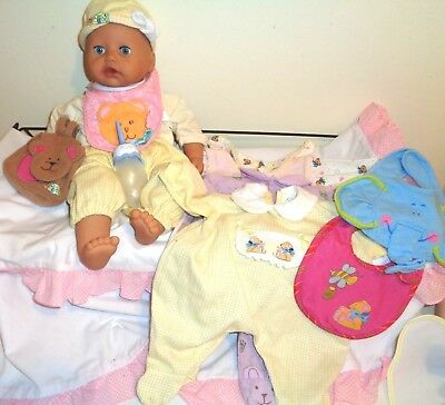 Chou Chou Doll By Zapf Creations, Interactive, 45 Cm Plus Extra Clothes