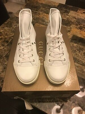 9c5824871ad GUCCI VINTAGE HIGH Top Sneaker -  150.00