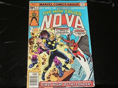 The Man Called Nova #2 1976 The First Night Of The Condor Good- Condition