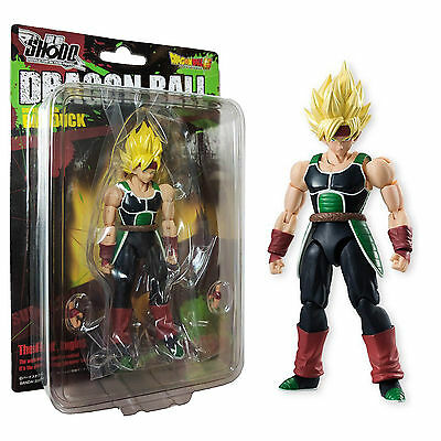 Bandai Dragon Ball Z Shodo 5 Super Saiyan Barduck Action Figure NEW Bardock Toys