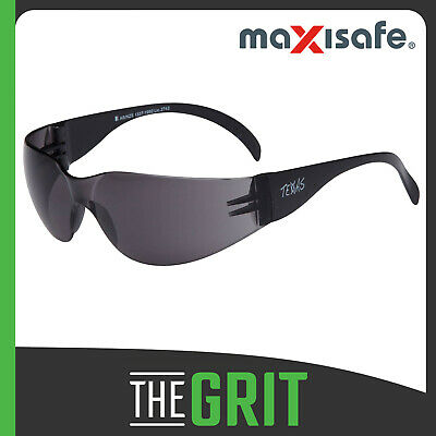 Maxisafe Texas Smoke Safety Glasses Anti-Fog Protective Eyewear Eye Protection