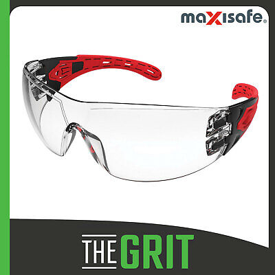 Maxisafe Evolve Clear Safety Glasses Gasket Headband Protective Eye Wear