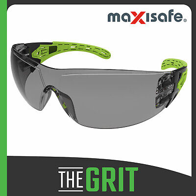 Maxisafe Evolve Smoke Safety Glasses Gasket Headband Protective Eye Wear