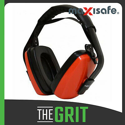 Maxisafe Ear Muffs Hearing Protection EarMuff Class 5 28dB Safety Professionals