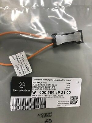 NEW  Loop Bypass MaleFemale Optical Short Circuit MERCEDES BENZ OEM 900589192100