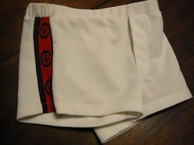 afl football shorts vfl cfl size 28 blue red white