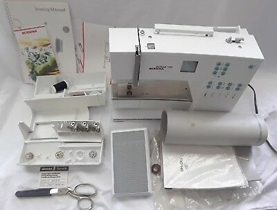 BERNINA ACTIVA 40 Sewing Machine W 40 Presser Feet Carrying Case Magnificent Bernina Activa 130 Sewing Machine
