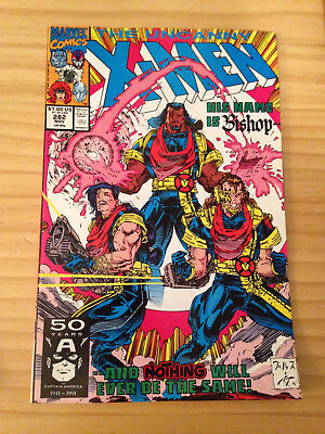 Uncanny-X-Men # 282 Direct Edition Nm Marvel 1St Appearance Of Bishop
