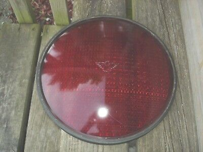 12 INCH Red Kopp Eagle Signal Traffic Light Signals GLASS Lens Cover