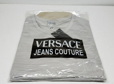 34511229 Versace Jeans Couture Designer Mens T Shirt Size XXL New w/ Tags Store  Closeout