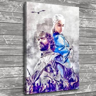"""12""""x18""""Game of Thrones Home Decor Room HD Canvas Print Picture Wall Art Painting"""