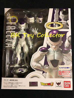 S.H Figuarts Dragon Ball Z Frieza Resurrection Figure USA Bandai Goku Tamashii
