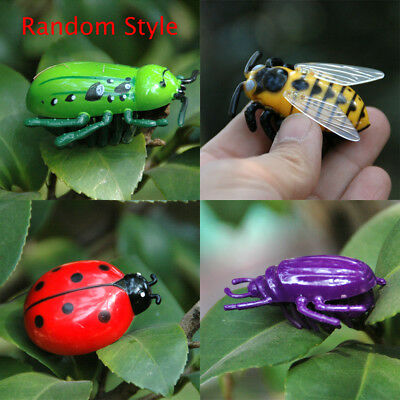 Cats Toys Teaser Interactive Pet Beetle Cicada Mini Auto Electric Walking Insect
