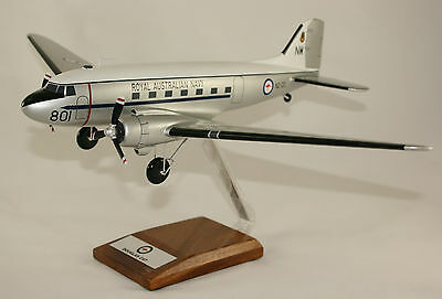 Ran Douglas C47 Large 1:54 Scale High Precision Hand Built Desk Top Model