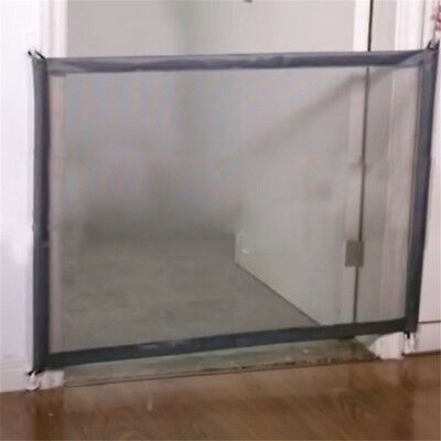 Mesh Magic Pet Dog Gate Safe Guard And Install Anywhere Pet Safety Enclosure AY