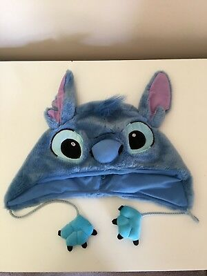 Disney lilo and stitch character blue beanie cute and soft cosplay