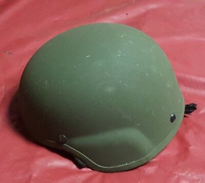EXTREMLY NICE MSA TC-2000 MICH Ballistic Combat Helmet Level IIIA - Medium